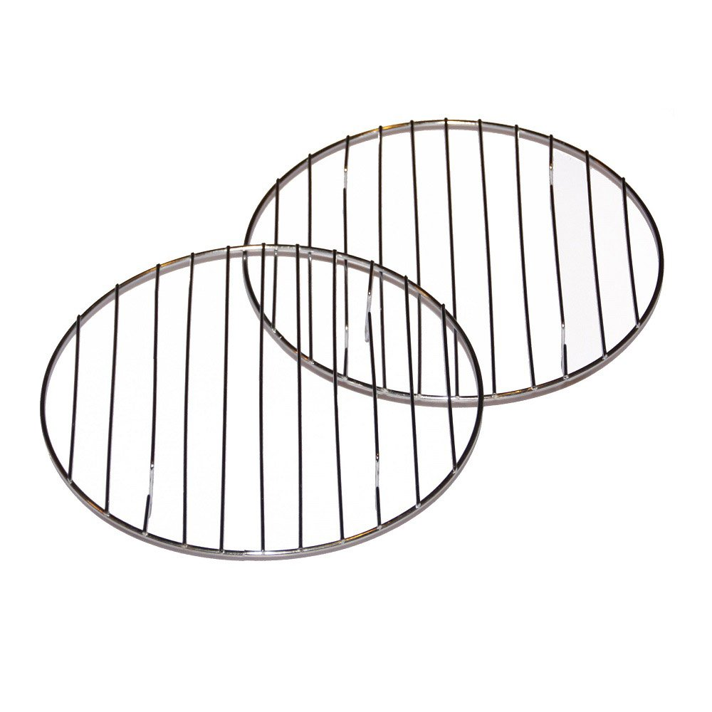 Cake Cooling Racks- Set of 2 Round 8 Inch Chrome Cooling Cake, Pastry or Cookie Racks