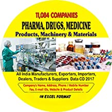 Pharma, Drugs, Medicine, Machinery, Products & Materials All India Companies Data