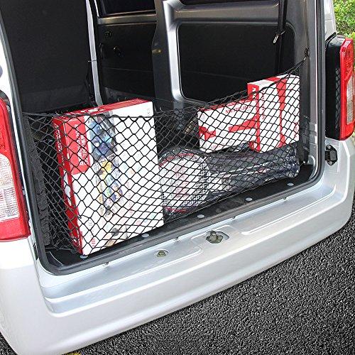 Envelope Style Trunk Cargo Net For Ford Explorer 2011 2012 2013 2014 2015 2016 (Ford Explorer Cargo Cover)