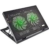 Cooler para Notebook Power Gamer LED Luminoso , Warrior, Verde - AC267