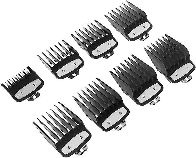8 peines para barba, peine de repuesto #3171-500-1/8