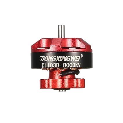 Motor sin escobillas, D1103B 8000KV, Motor de dron, Motor ...