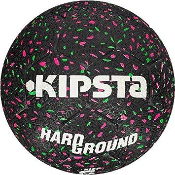 Kipsta HARDGROUND FOOTBALL Talla 5 - Negro/Verde/Rosa: Amazon.es ...