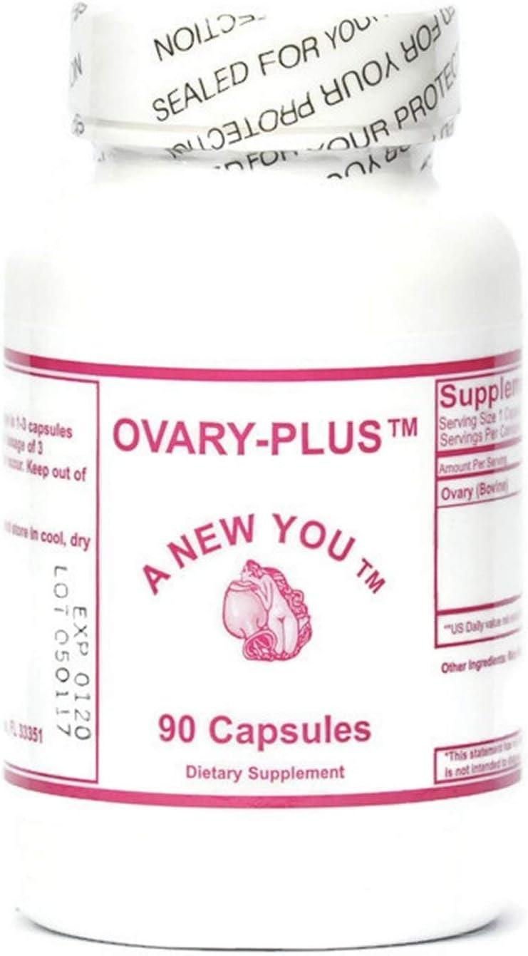 Ovary Plus Feminizing Pills for Crossdressing, Transgender. Pure Bovine Ovary Glandular 90 Count: Health & Personal Care