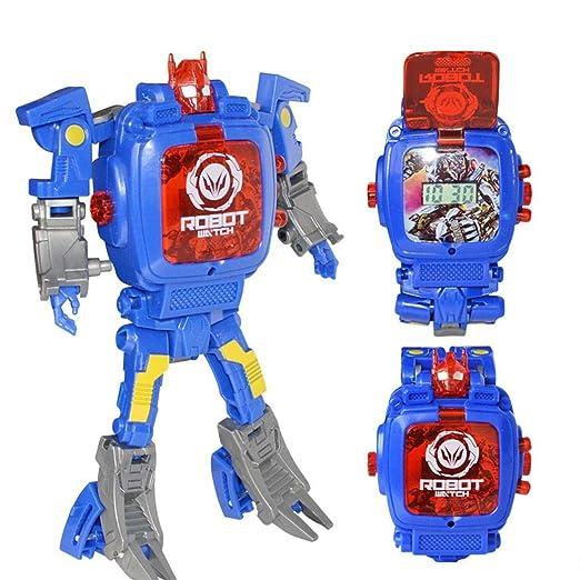 Niños Robot Creativos Transformación Toys De Manuales Begorey HEI2WD9