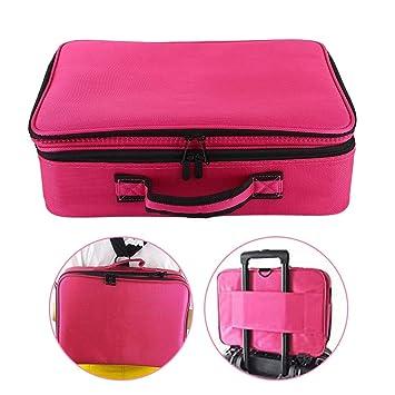 Amazon.com: Bolsa de almacenamiento para cosméticos de 3 ...