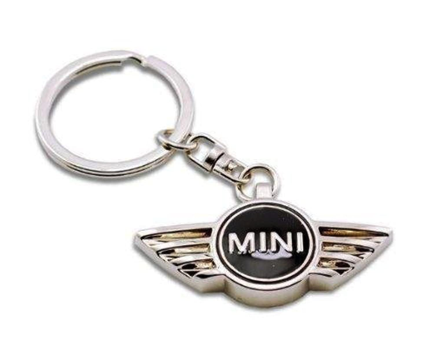 Mini Enamel Key Ring BMW