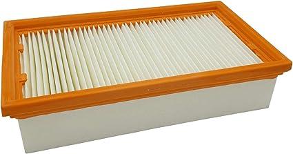 Reinica Pes Luftfilter Staubklasse M Für Bosch 2 607 432 034 Filter Lamellenfilter Staubfilter Faltenfilter Staubsaugerfilter Flachfilter Küche Haushalt