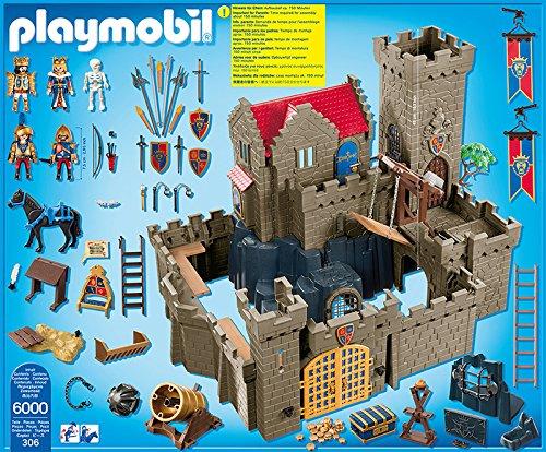 Playmobil 6000 Jeu De Construction Château Des Chevaliers