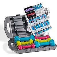 York  Adult Exercise Dumbbell - Multi Color, None;York Dumbbells 10Kg Viny Coverd Set