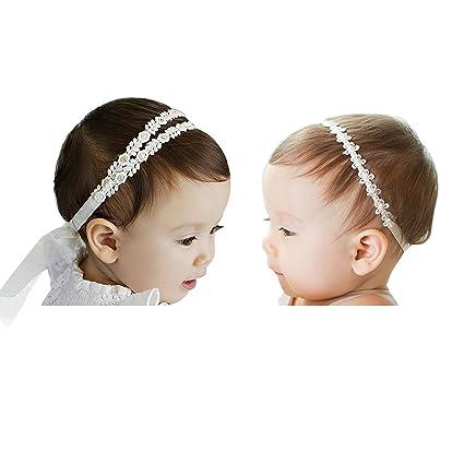 Jolieer 2 Pezzi di Fascia Capelli Cerchietti e Fasce per Capelli Bambina  Neonata  Amazon.it  Prima infanzia 8c0424c9c3e3
