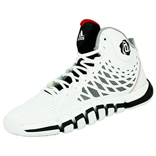 sneakers for cheap ac807 937a1 adidas Performance DERRICK ROSE 773 II Scarpe da Pallacanestro Bianco Nero  per Uomo SprintWeb