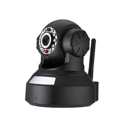 Powerextra IP Cámara HD WiFi de Vigilancia 720P Detección Movimiento Visión Nocturna Seguridad P2P Compatible con