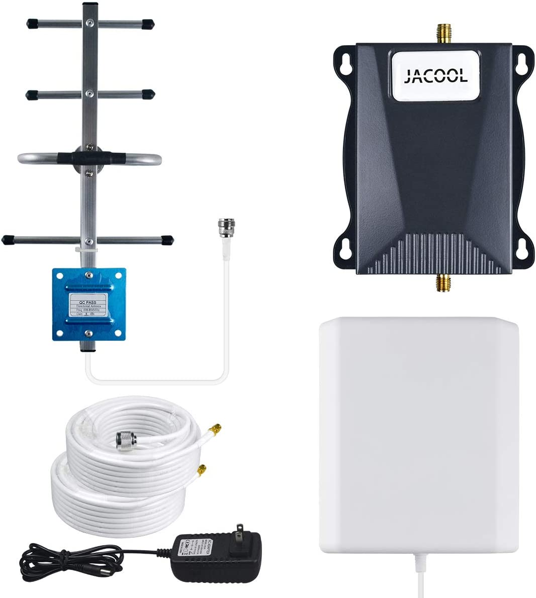 Verizon Cell Phone Signal Booster 4G LTE Cellular Signal Booster Verizon Cell Phone Booster Band 13 700MHz Signal Amplifier Repeater Verizon Extenders Signal Booster for Home - Boost 4G Data & Voice