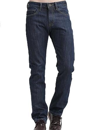 SSLR Jeans Recto para Invierno Forrado de Franela para Hombre