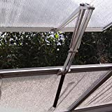 BIBISTORE Solar Auto Ventilation Window Opener with Two Springs for Hothouse Greenhouse