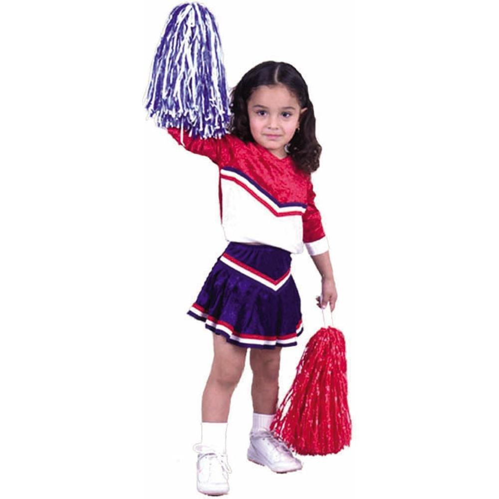 fac9f875c Amazon.com  Child s Toddler Cheerleader Halloween Costume (2-4T)  Clothing