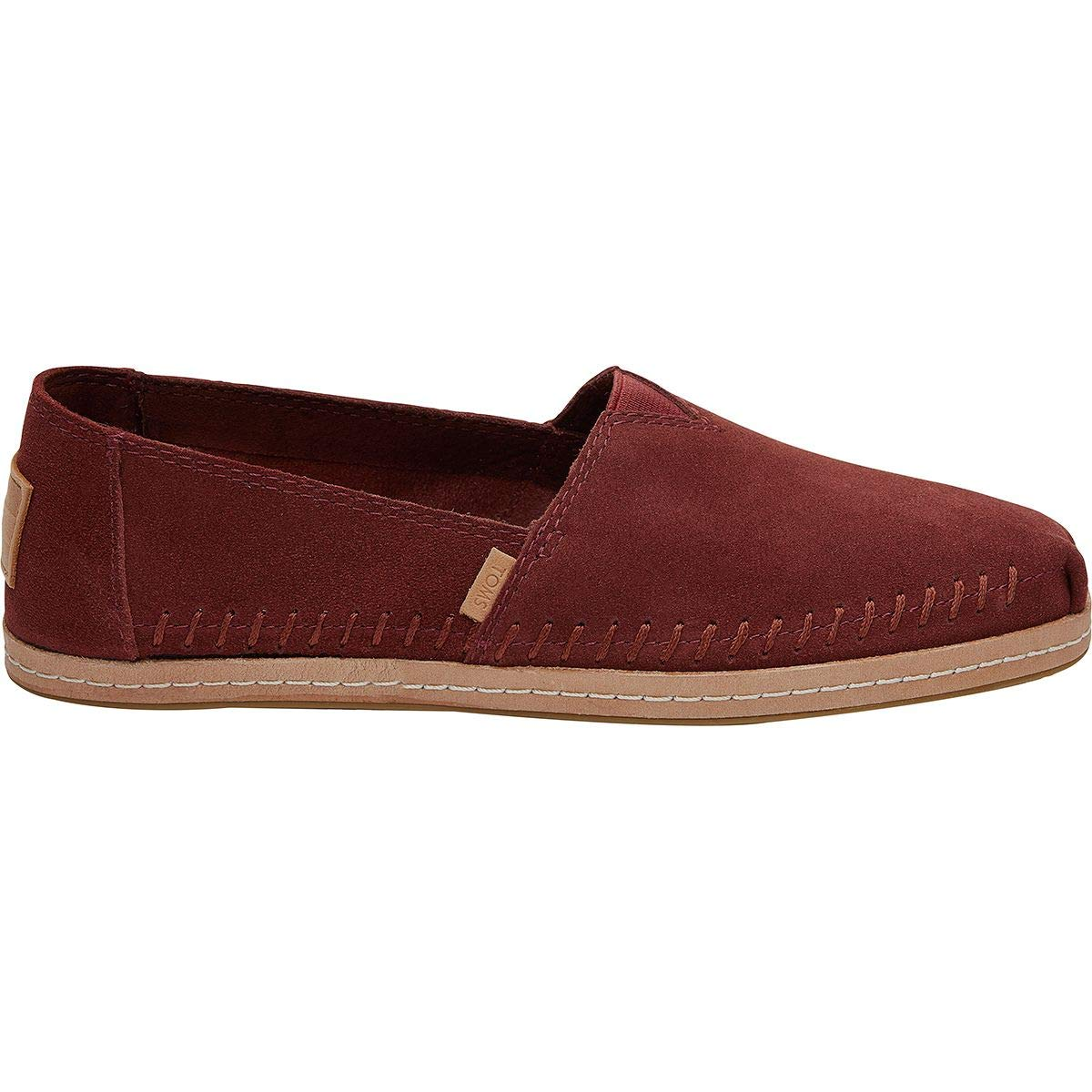 Amazon.com | TOMS Womens Alpargata Muscat Suede 9 B US B (M) | Fashion Sneakers