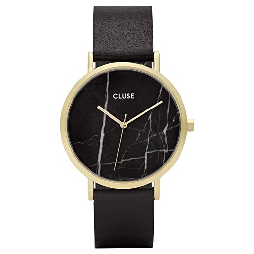 Cluse Reloj Analógico para Mujer de Cuarzo con Correa en Cuero CL40004: Cluse: Amazon.es: Relojes