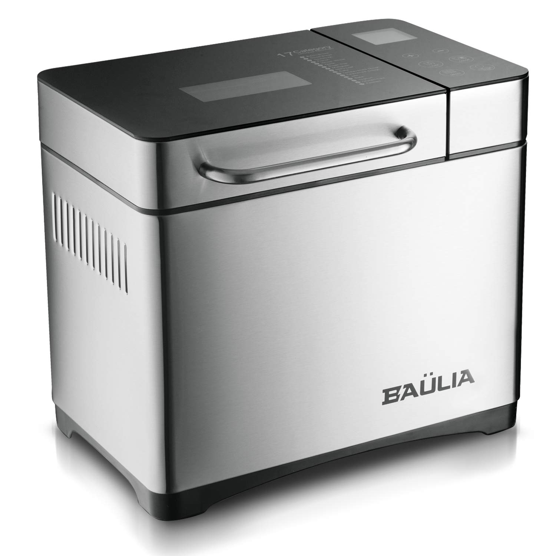Baulia Custom loaf Automatic Bread Maker Machine – 17 Programmable Bread Types Settings