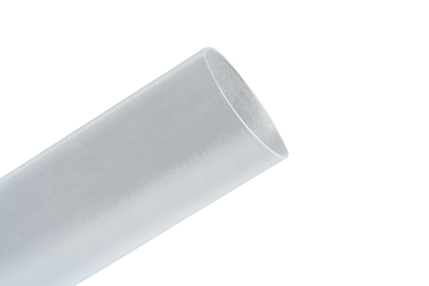 3M Clear Polyolefin Heat Shrink Tubing - 200 ft Length - 2:1 Shrink Ratio - +212 F Shrink Temp - FP301-1/2-200'-Clear-Spool [PRICE is per SPOOL]