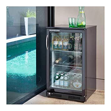 Gasmaster 118l Glass Door Bar Fridge Kitchen Dining Amazon