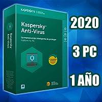 KASPERSKY 2020 ANTIVIRUS 3PCS licencia electronica