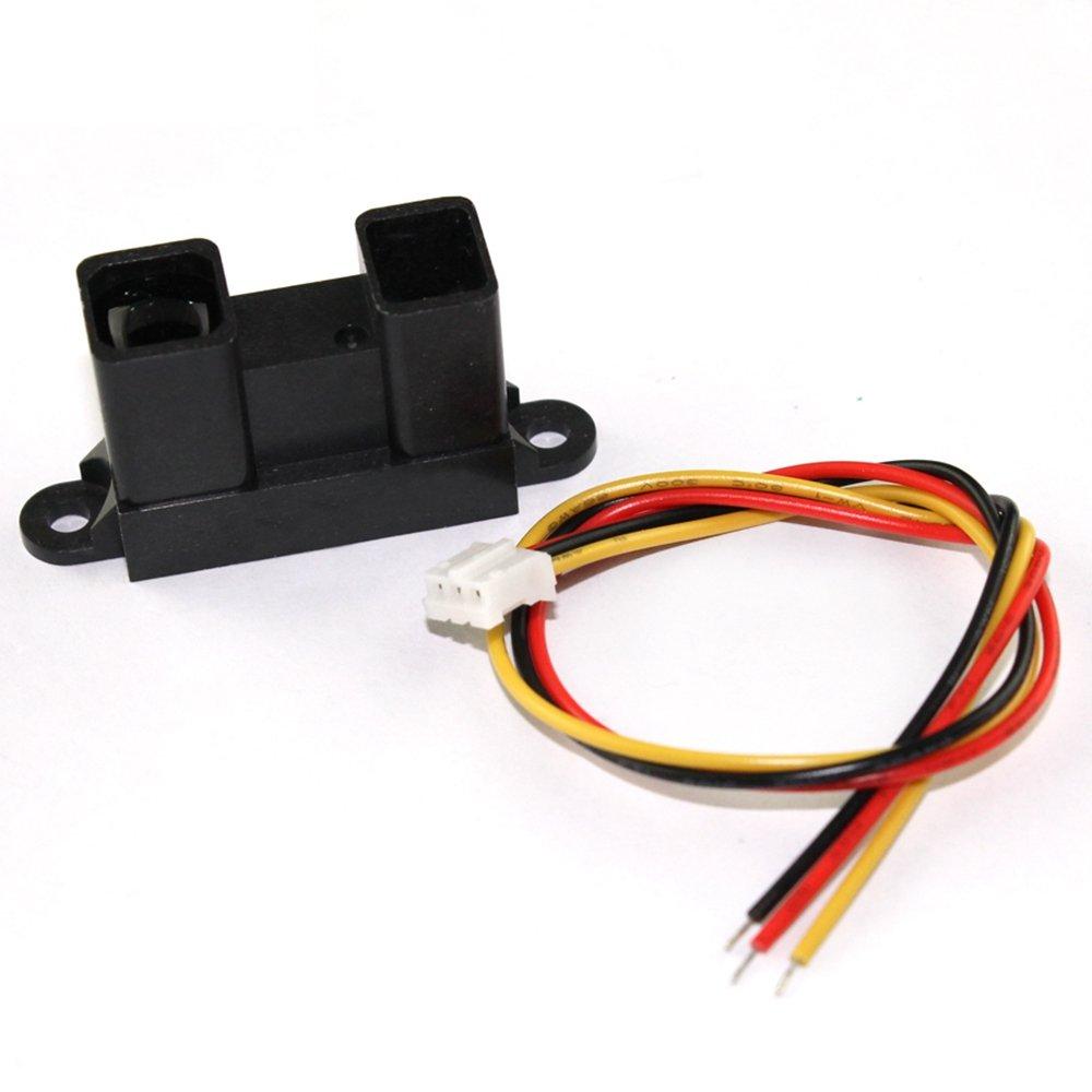 2 Pack GP2Y0A02YK0F Infrared Proximity Sensor Detect 20-150cm Distance Long Range