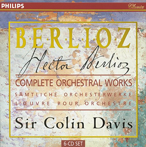 Berlioz: Complete Orchestral Works by Philips