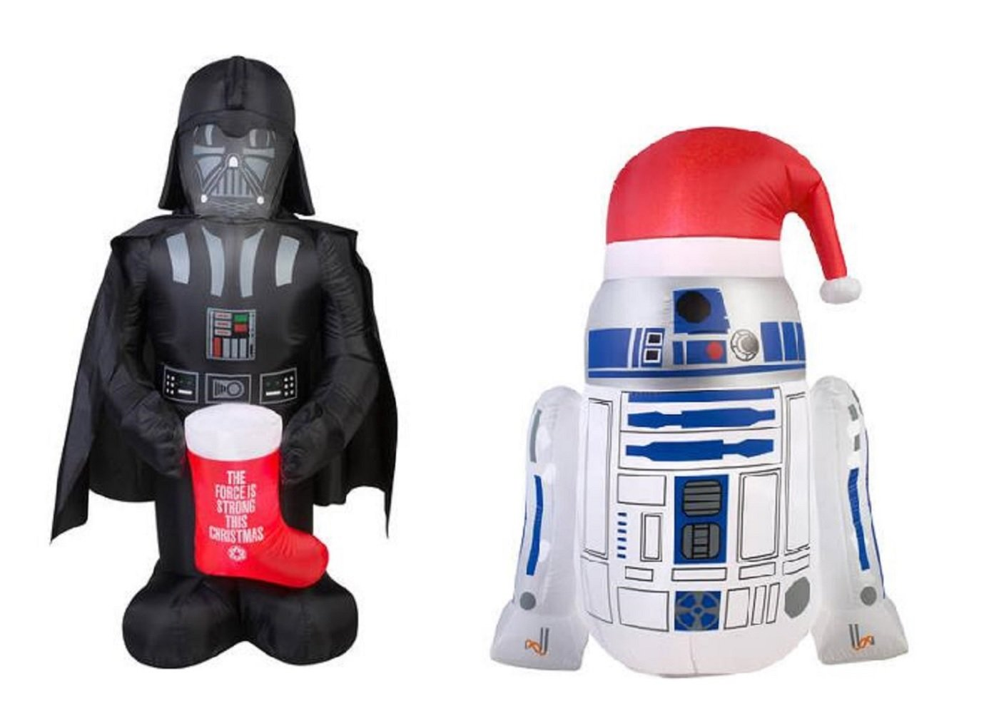 Amazon.com: Star Wars Airblown Inflatable Christmas Decorations Lawn ...