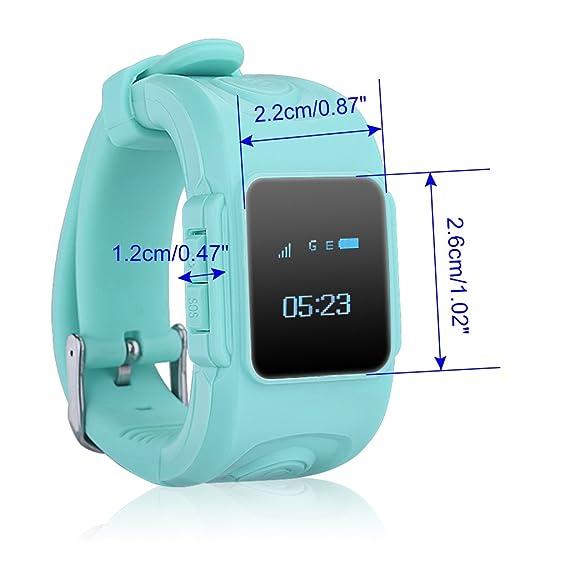 Excelvan Huppy Reloj Inteligente de seguridad para niños ...