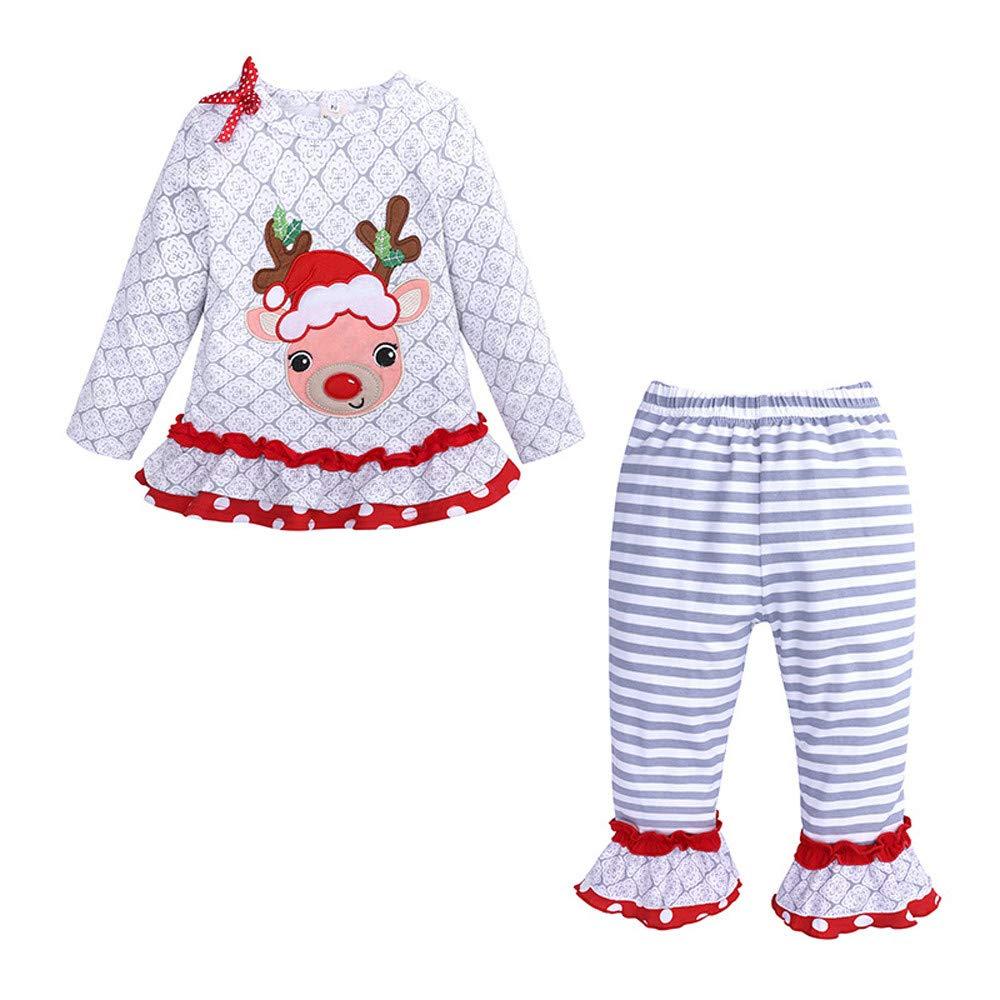 Jarsh Clothes Sets PANTS ベビーガールズ 12M(6-12Month) グレー B07HQRVMM4