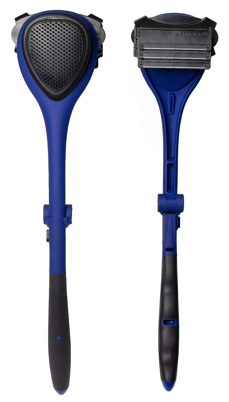 baKblade 2.0 Elite Plus - Back Shaver for Men (DIY), Ergonomic Handle, Shave Wet or Dry (Extra Blades Included)