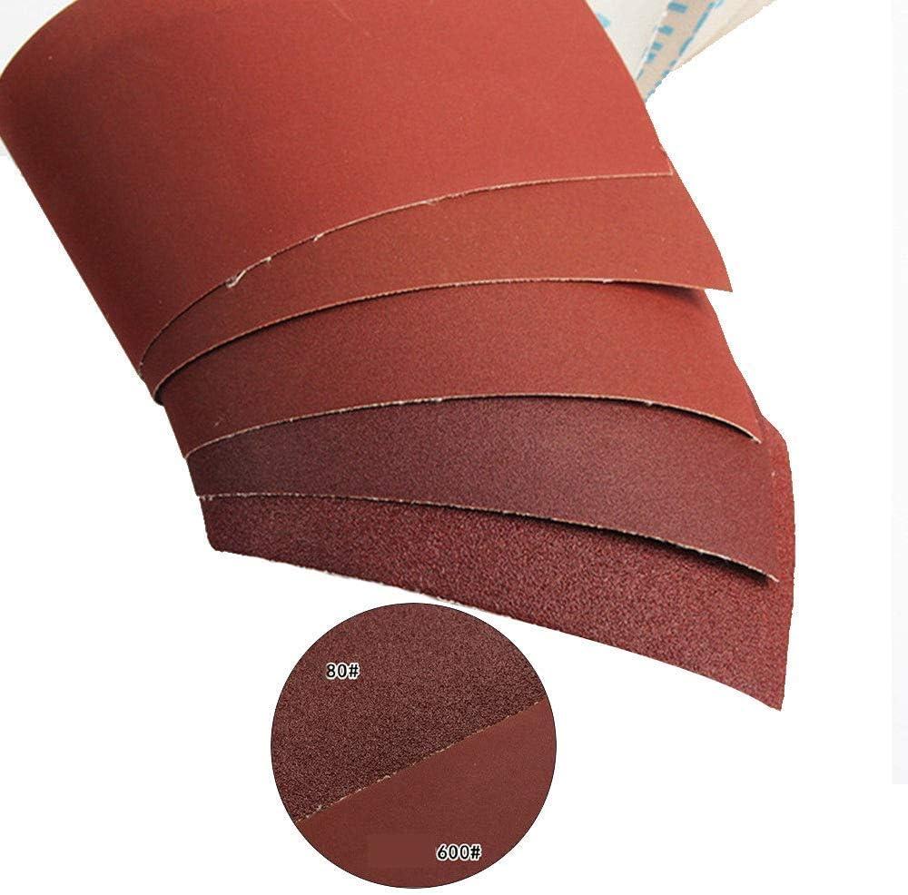 Rouleau De Tissu /Émeri Rouleau De Papier Abrasif Grain 80 Abrasifs Pour Pon/çage Polissage Pon/çage