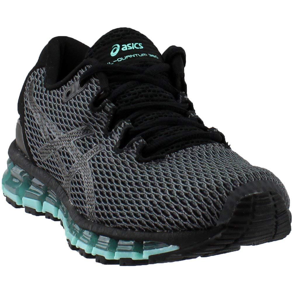new style b7e06 d1cc0 ASICS T889N Women's Gel-Quantum 360 Shift MX Running Shoe,  Carbon/Black/Aruba Blue - 5.5