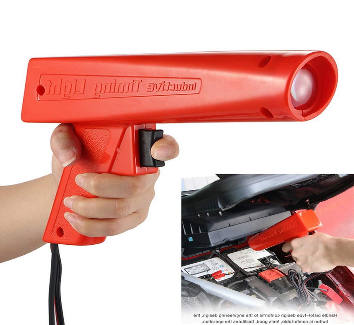 DONGMAO Probador de la lámpara de xenón Pistola de Encendido Agarre Motor de Gasolina inductivo Comprobación de la lámpara de sincronización de Encendido ...