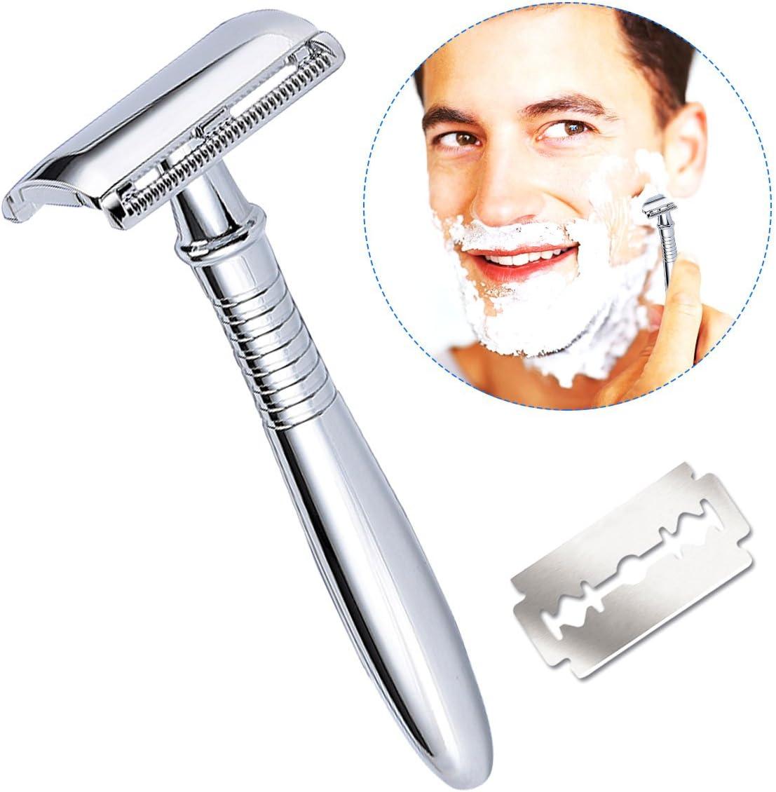 Maquinilla de afeitar con 5 hojas,Breett Maquinilla para hombre ...