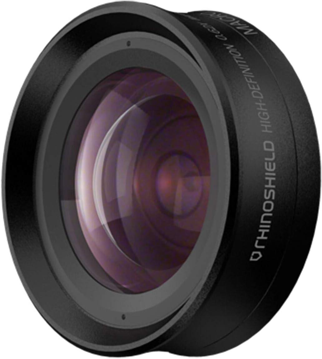 2 in 1 Add-On Camera Lens by RhinoShield - Professional Wide Angle + Macro 4K HD Bayonet-Style Mount Phone Camera Lens