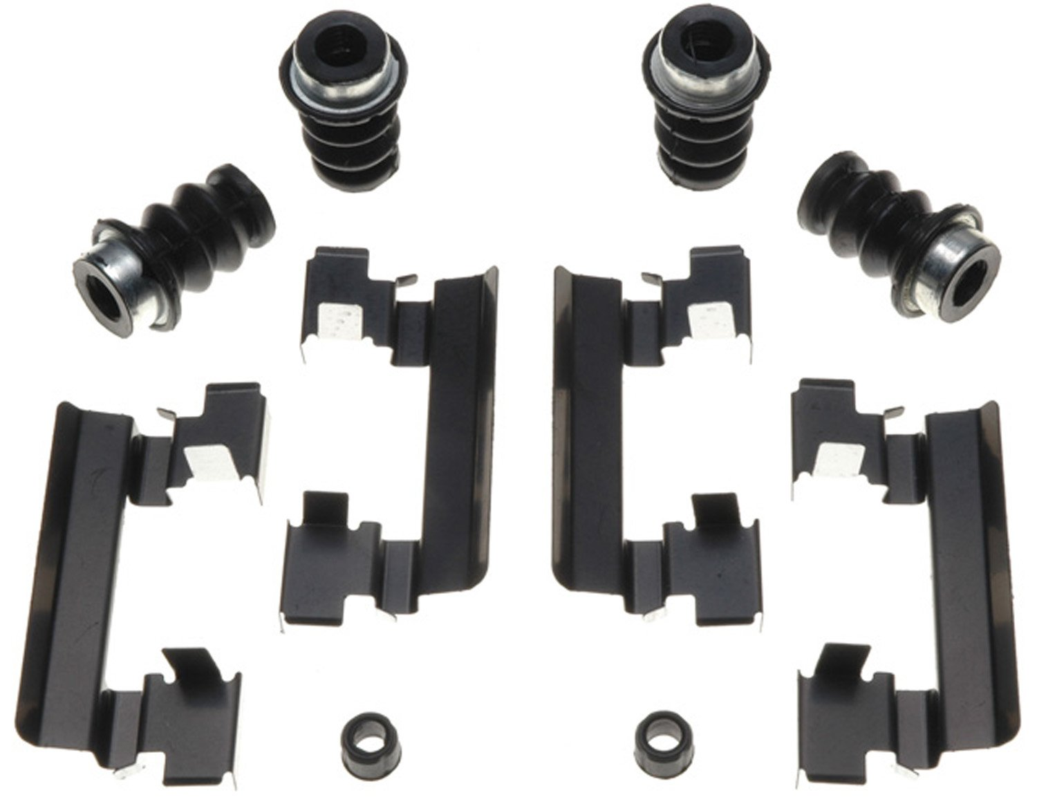 ACDelco 18K1567X Professional Front Disc Brake Caliper Hardware Kit with Clips, Seals, and Bushings