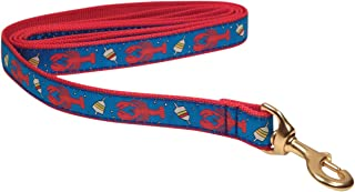 """product image for Up Country """"Lobster and Buoy"""" Dog Leash, MEDIUM and LARGE Dogs"""