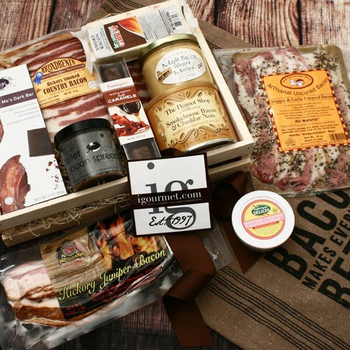 For The Bacon Lover Gourmet Gift Crate (5.4 pound) by igourmet