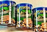 Planters Pistachio Lovers Mix, Salted, 18.5 Ounce Canister (Pack of 3)