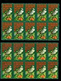 Vintage Christmas Stamps Partridge  and
