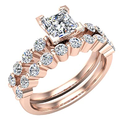 Diamond Engagement & Wedding Learned Round Diamond Solitaire Engagement Ring I1 H 1.05 Ct Prong Set 14kt Solid Gold