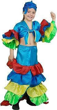 Boys Toys Disfraz Rumbera Azul 5-6 años: Amazon.es: Juguetes y ...