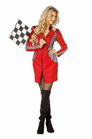 exquisite handwerkskunst suche nach echtem Rabattgutschein Damen Kostüm Rennfahrer Boxenluder Karneval Fasching Gr.36 ...