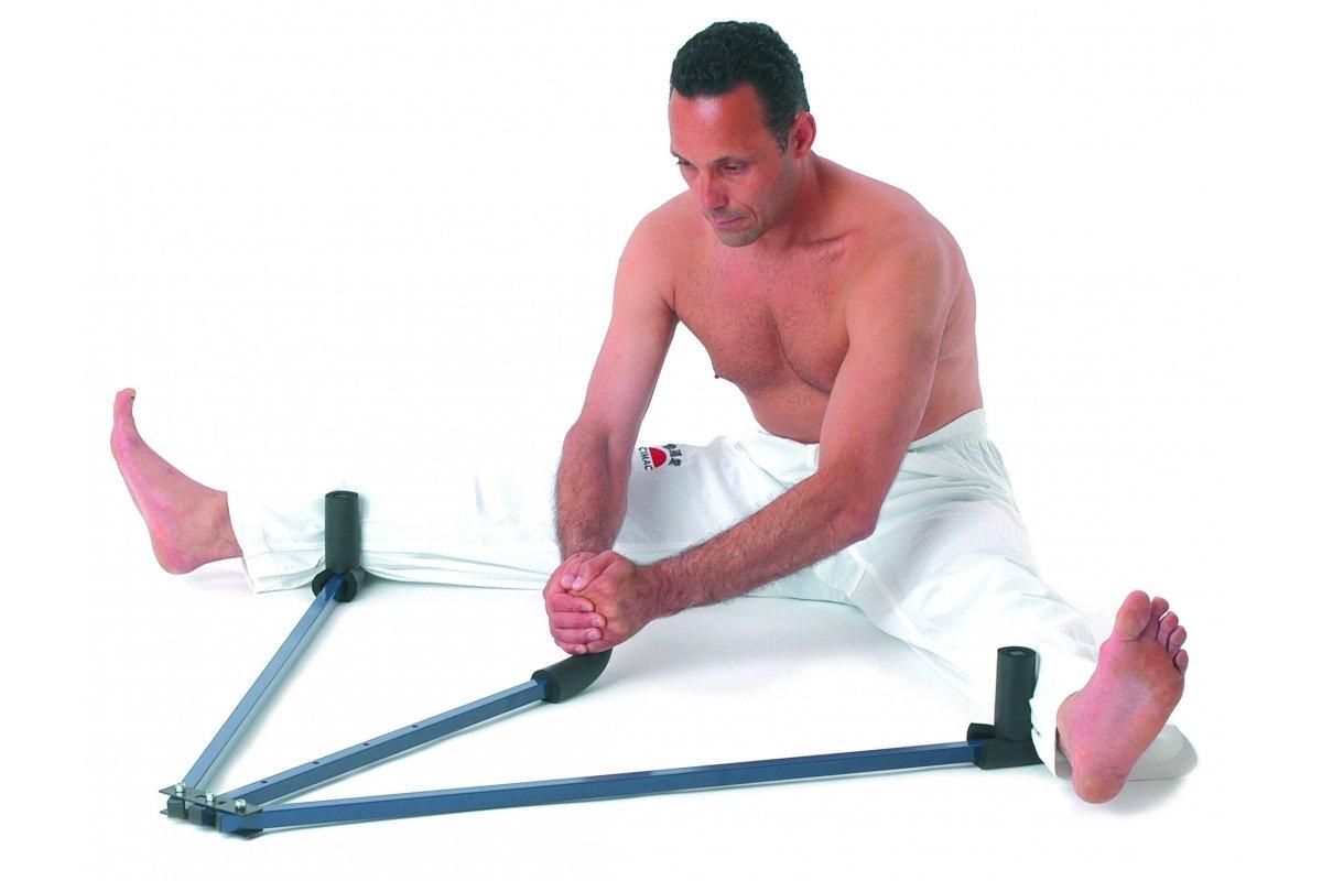 Cimac Martial Arts Metal Heavy Duty Leg Stretcher Colour Blue
