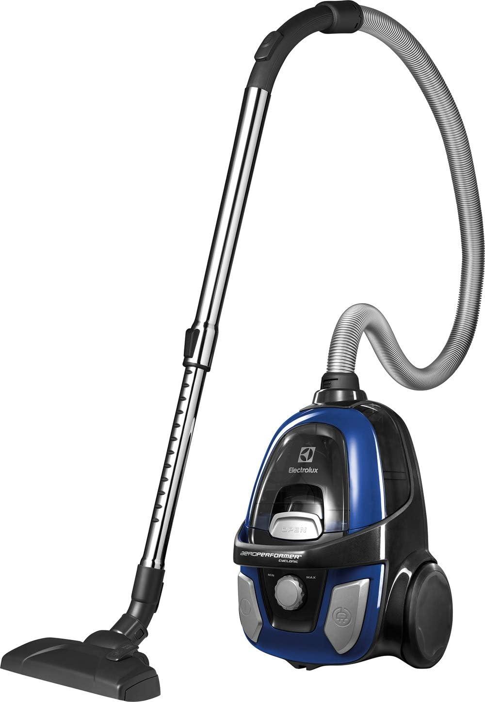 Electrolux EAPC53IS 650 W - Aspiradora (650 W, 26,5 kWh, Aspiradora de tambor, Sin bolsa, Azul, Filtro higiénico): Amazon.es: Hogar