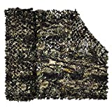 LOOGU Camouflage Net Camo Netting Blinds for Shooting Hunting Camping (Bionic Maple Leaf 2, 1.5x2M=5x6.6ft)