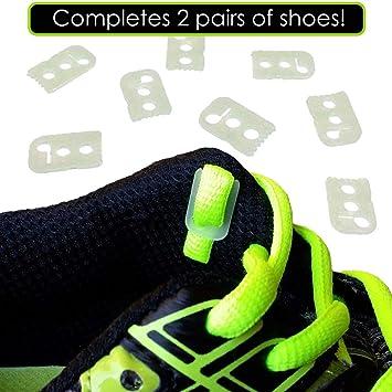 57347488b Amazon.com  No Tie Shoelace Locks - Lace Anchors 2.0 - Never Tie ...